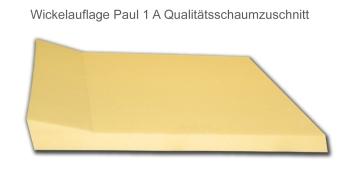 Atmolon ® Wickeltischauflage Paul mit einer Aufkantung