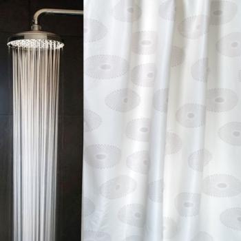 Antimikrobieller Duschvorhang Motiv Sonne von Atmolon®
