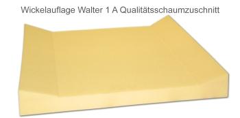 Wickeltischauflage Walter mit zwei Aufkantungen