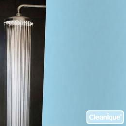 Duschvorhang Cleanique, schwer entflammbar und bakteriostatisch
